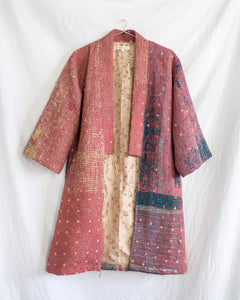 Vintage Kantha Kimono Coat - Fall/Winter 2019, no.2