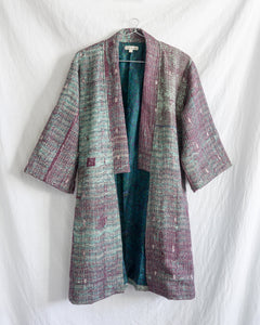 Vintage Kantha Kimono Coat - Fall/Winter 2019, no.3