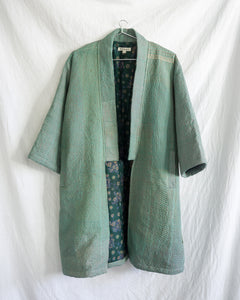 Vintage Kantha Kimono Coat - Fall/Winter 2019, no.5