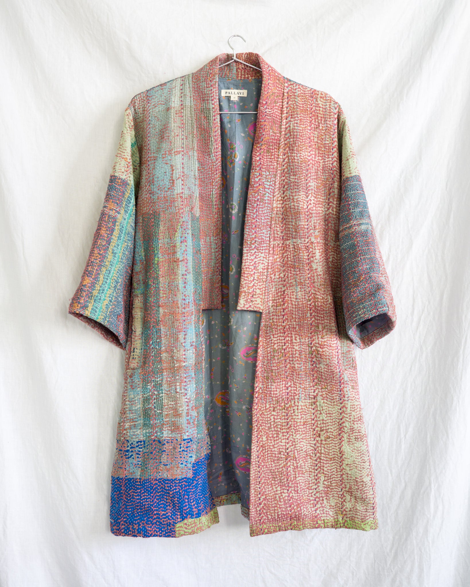 Vintage Kantha Kimono Coat - Fall/Winter 2019, no.6