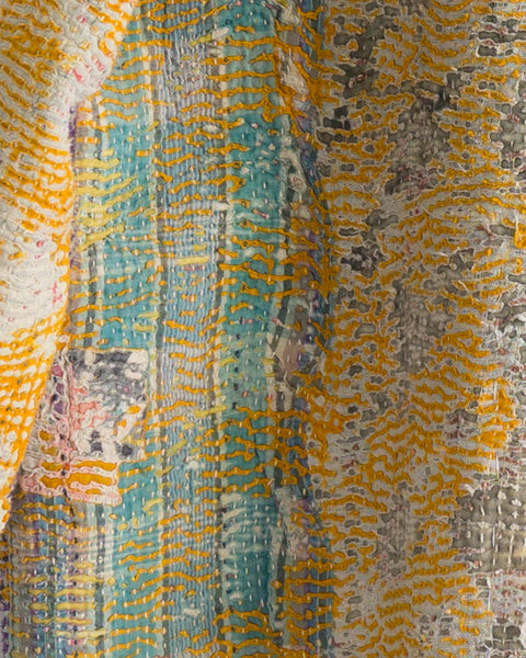 Vintage Kantha Kimono Coat - Fall/Winter 2019, no.7