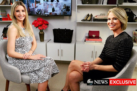 Ivanka Trump chose ISS Designs PAL Series shelving for her showroom