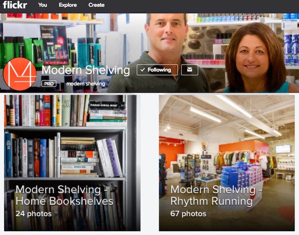 New Modern Shelving Gallery - Powered by Flickr