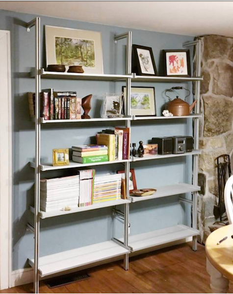 really flexible unusual system modern for shelf interiors very