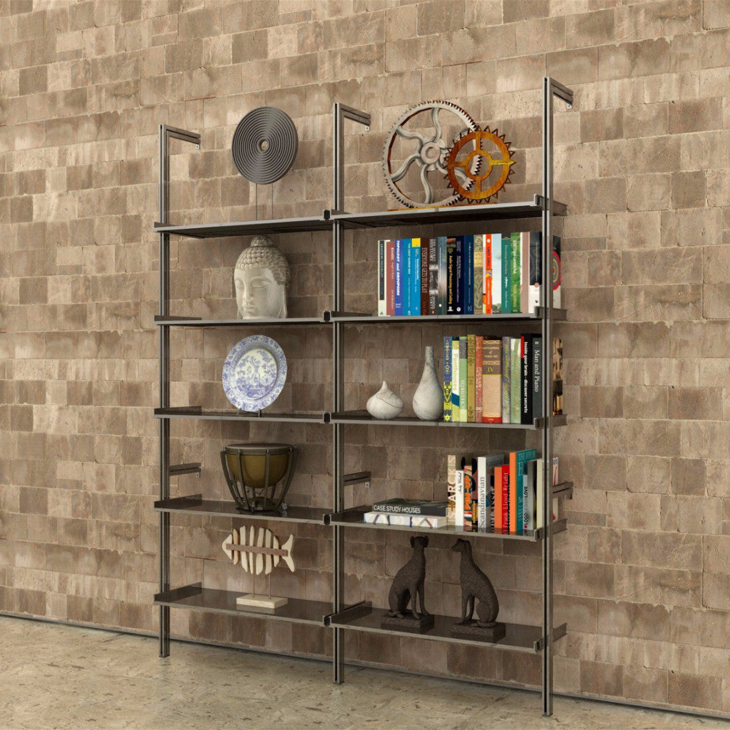 2 Bay PAL33 Aluminum Shelving
