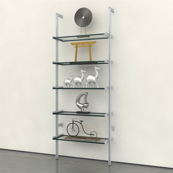 PAL Support Hardware Only 1-Bay Pole Mounted Shelving System