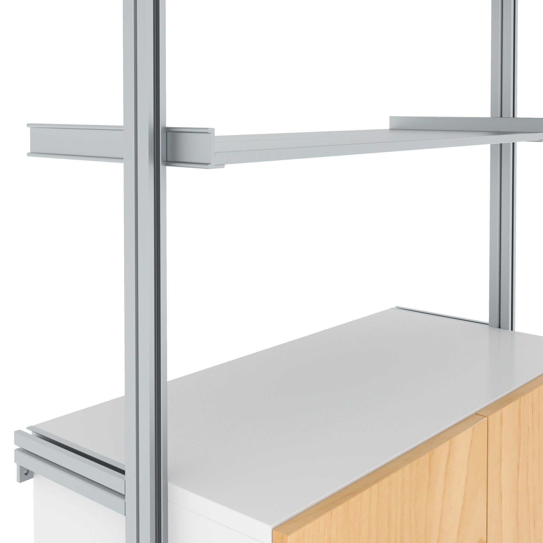 SALE ITEM - Fold Down Desk and Kitchen Shelves All-in-One