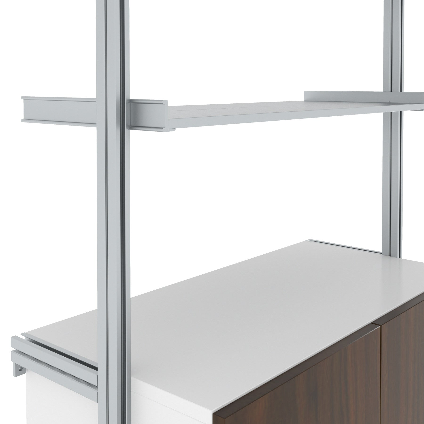 SALE ITEM - Laundry Room PAL Aluminum Shelving
