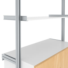 SALE ITEM - Desk System with Credenza