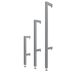 ISS Quad Semi Wall Mounted Pole (RAD/CLT Poles)
