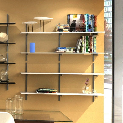 SALE Item - WAL48 wall mounted aluminum shelving
