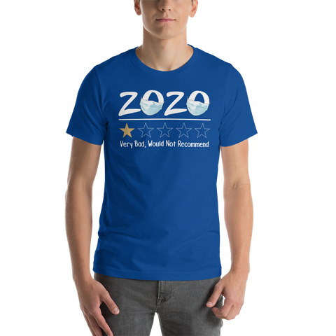 2020 Review One Star Rating - Very Bad, Would Not Recommend - Unisex Adult/Youth T-Shirt