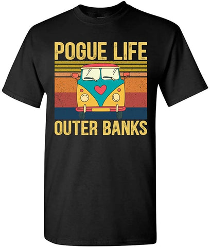 Pogue Life Outer Banks Retro Vintage Car Gift