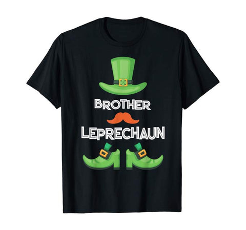 Brother Leprechaun Family Matching Group Patrick Party T-Shirt
