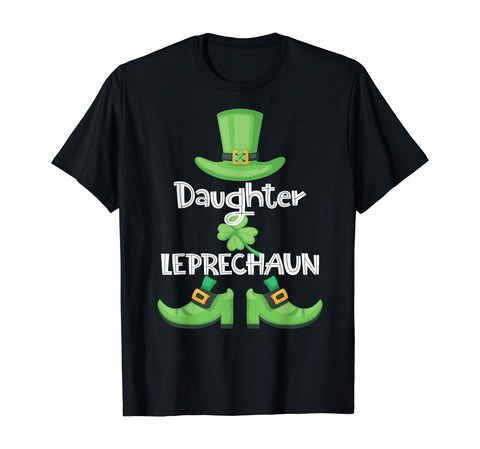 Daughter Leprechaun - Family Matching Gift Patrick's Party T-Shirt