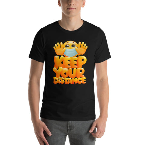 Keep Your Distance - Medical Mask Surgical Emojis Gift