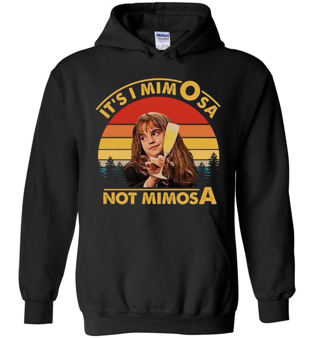 It's-Mimosa-Not-Mimosa Vintage Gift Funny: Gildan Heavy Blend Hoodie - Make better shirt