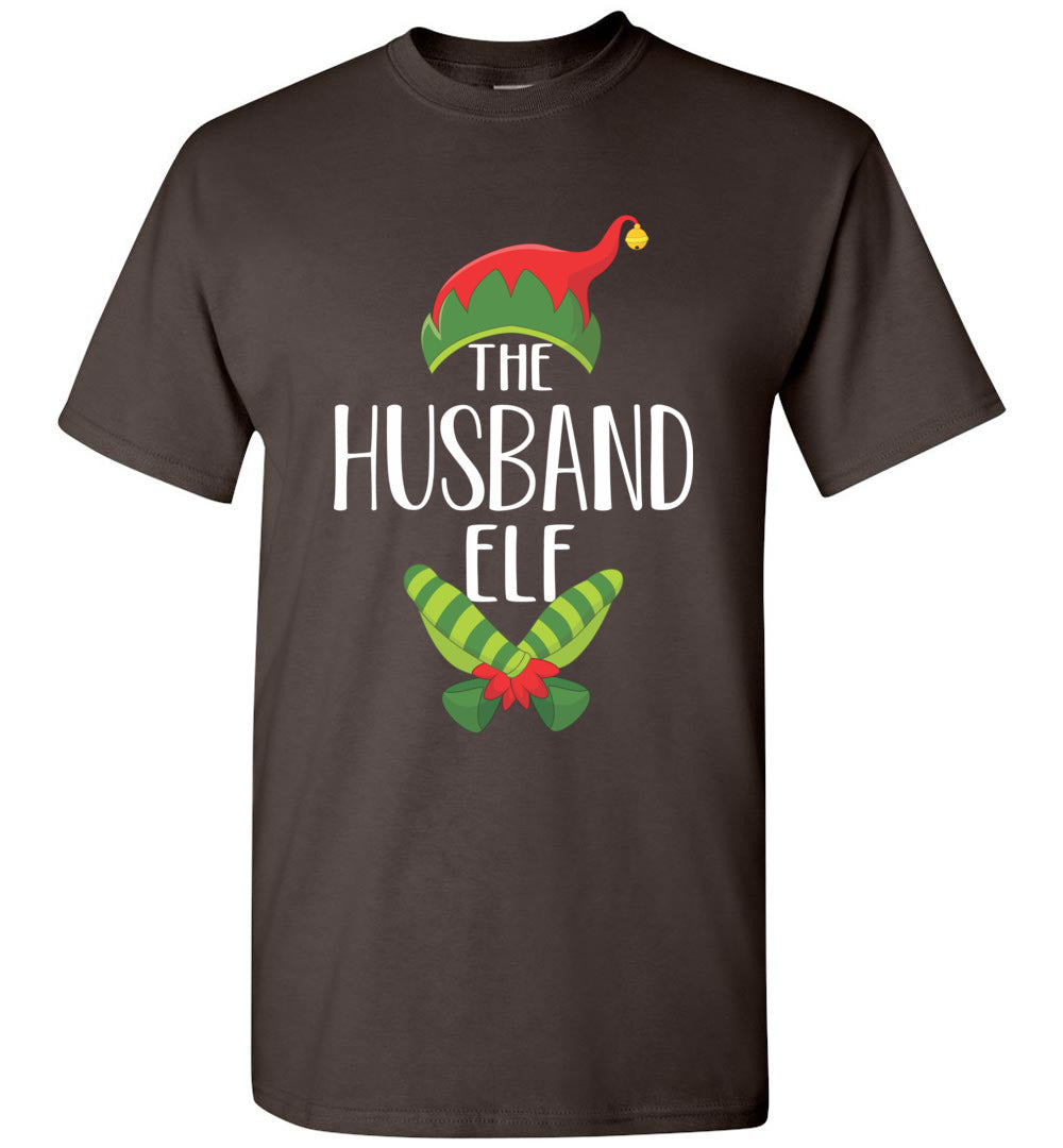 Husband Elf Matching Family Group Christmas Party - Short-Sleeve T-Shirt - Make better shirt