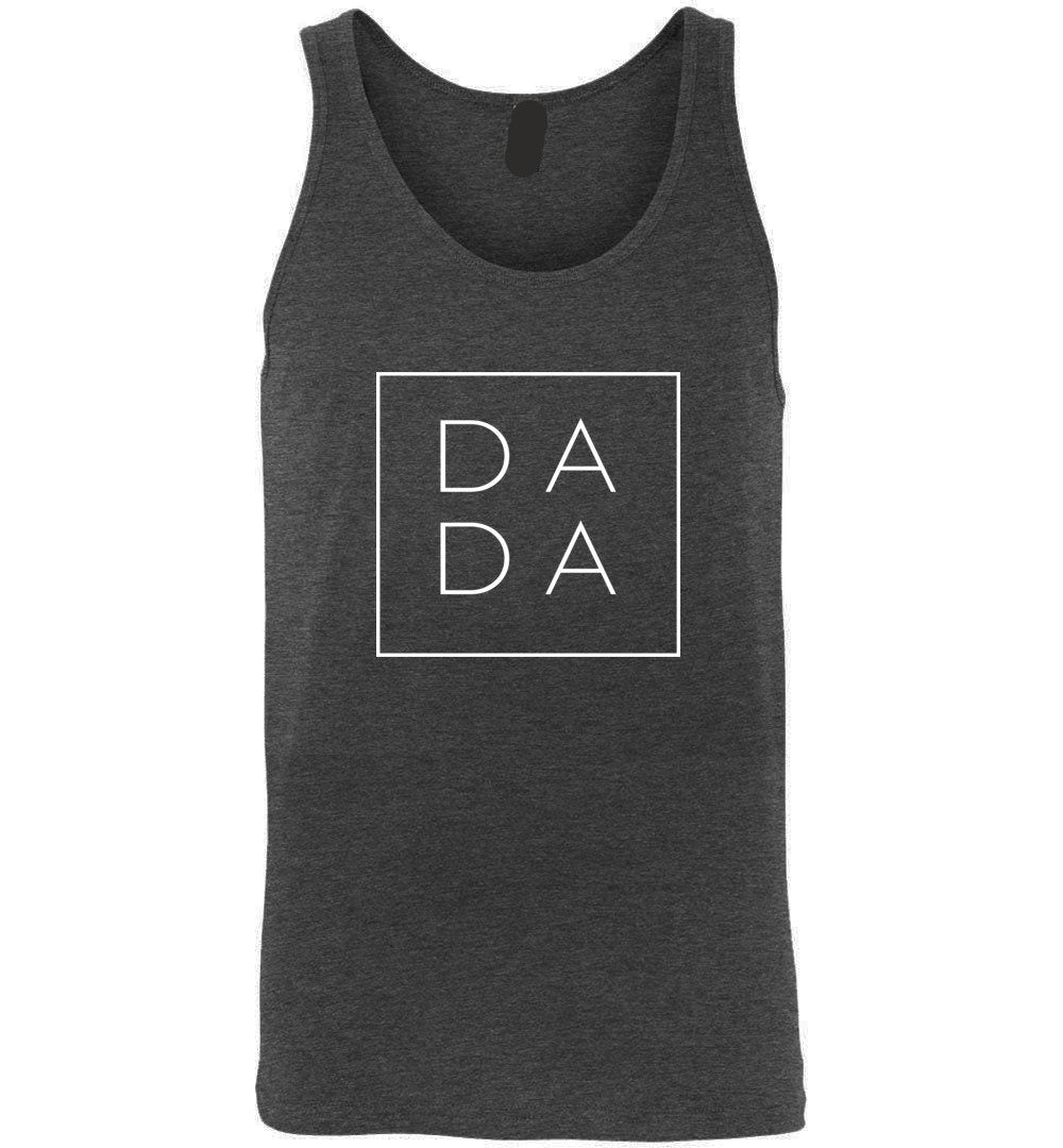 Dada Square Tank Top - Dada Square Canvas Unisex Tank Gift for Father's Day Gift For Dad - Make better shirt