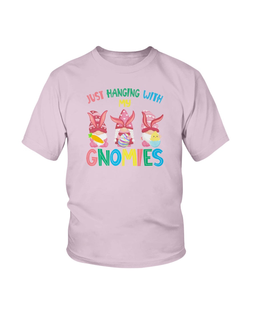 Hanging With My Gnomies Gnome Easter Bunny Outfit - KIDS Ultra Cotton T-Shirt