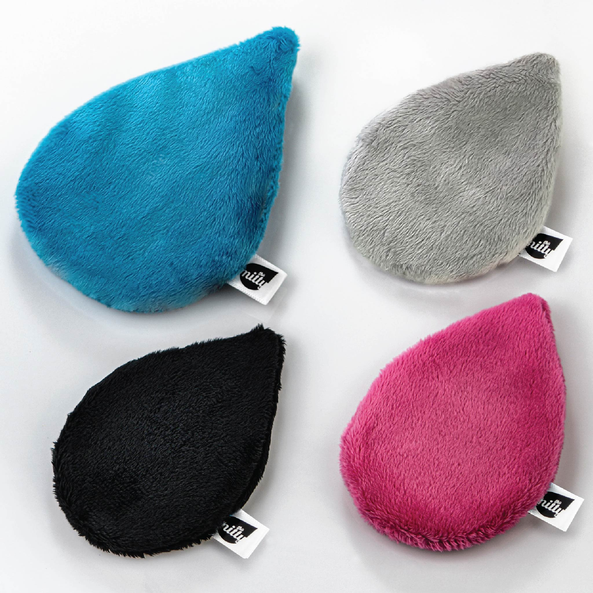 The Mitty 4-Piece Set of Amazingly Effective Reusable Facial Cloths