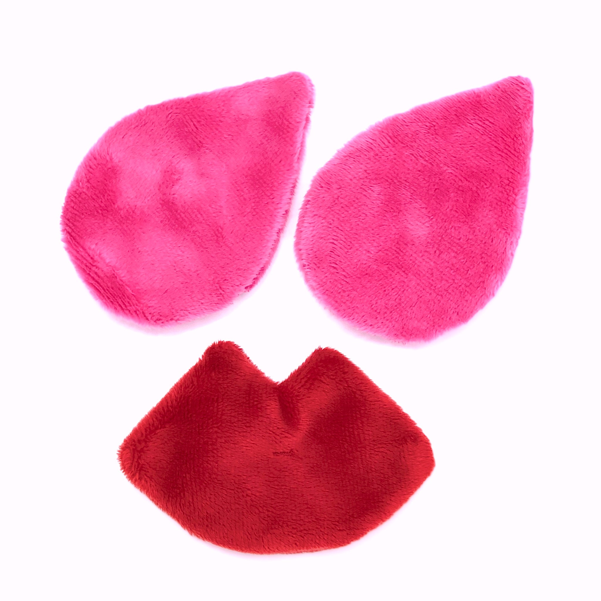 The Mitty Mini/Vlada's Mitty Pout 3-Piece Set of Ultra-Gentle, Reusable Makeup Removers