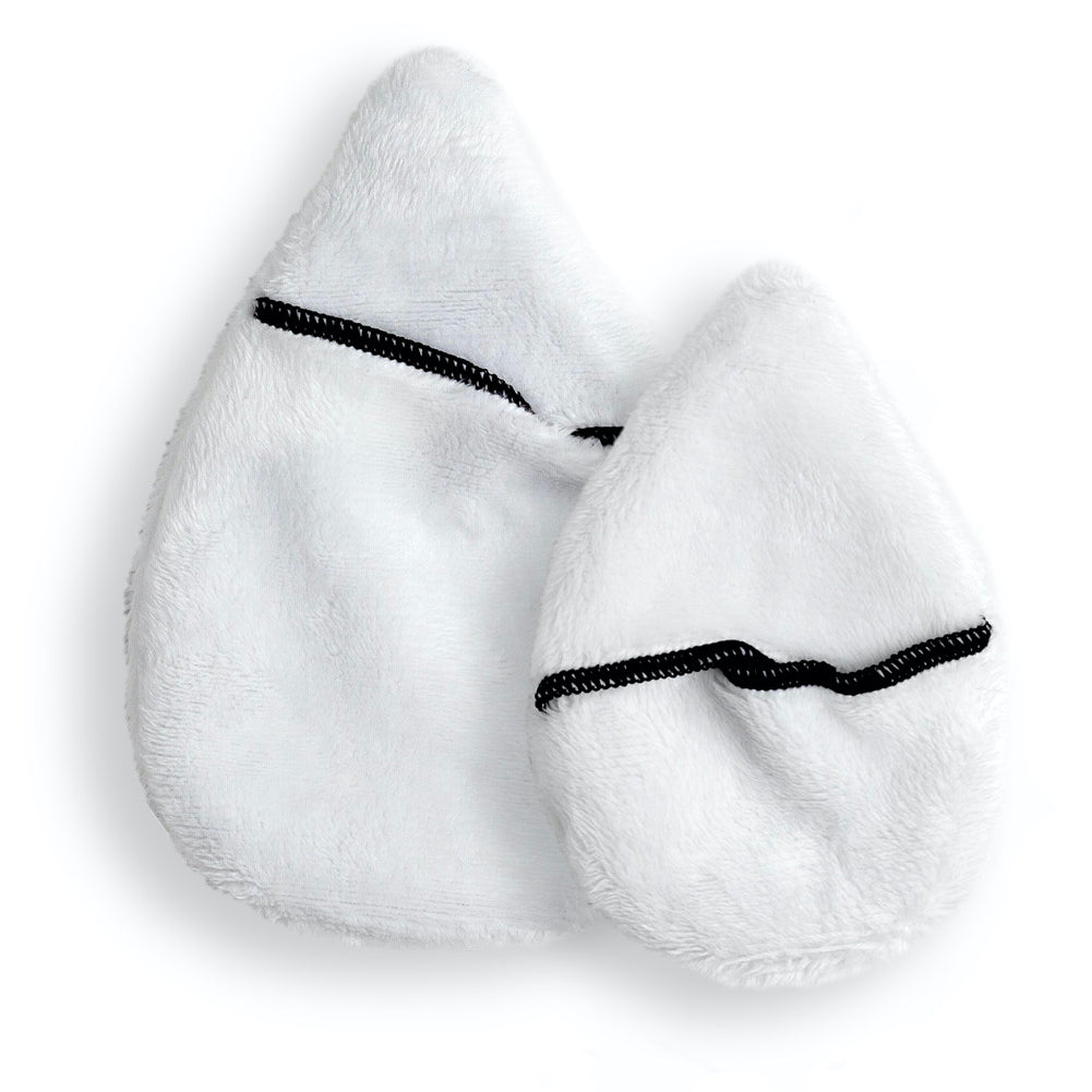The Mitty Snowman 2-Piece Gift Set of Ultra-Gentle, Reusable Cleansing Cloths