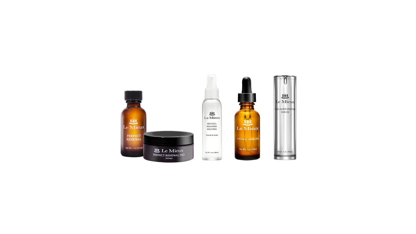 LE MIEUX Skin Care available online through Beauty Nook