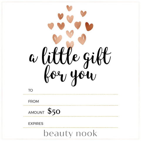 $50 Gift Card - Beauty Nook
