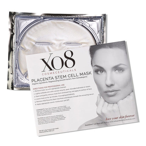 XO8 COSMECEUTICALS - PLACENTA STEM CELL MASK - Beauty Nook