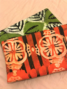 ADIRE: HAND PRINTED PATTERN AFRICAN FABRIC