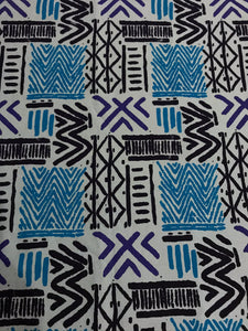 BOGOLAN WOODIN SOFT FURNISHING MADE IN AFRICA PATTERN FABRIC