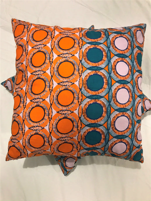BESPOKE AFRO FUSION CUSHION AND LAMPSHADE SET