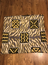 Load image into Gallery viewer, AFRICAN FABRIC WOODIN PRINT