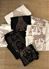 Load image into Gallery viewer, IDIA ART EARTH POSITIVE TEE- ROSEGOLD ON BLACK TEE