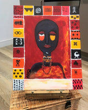 Load image into Gallery viewer, ABOVE STANDARDS Acrylic paint on canvas