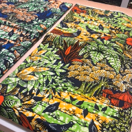 Load image into Gallery viewer, AFRICAN FABRIC PREMIUM SUPER WAX PRINT