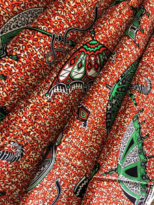VERITABLE WAX HOLLANDIASE ANKARA FABRIC