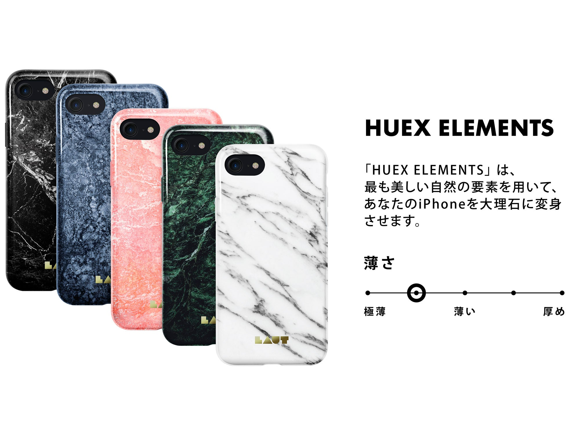 LAUT - HUEX ELEMENTS for iPhone SE 2020