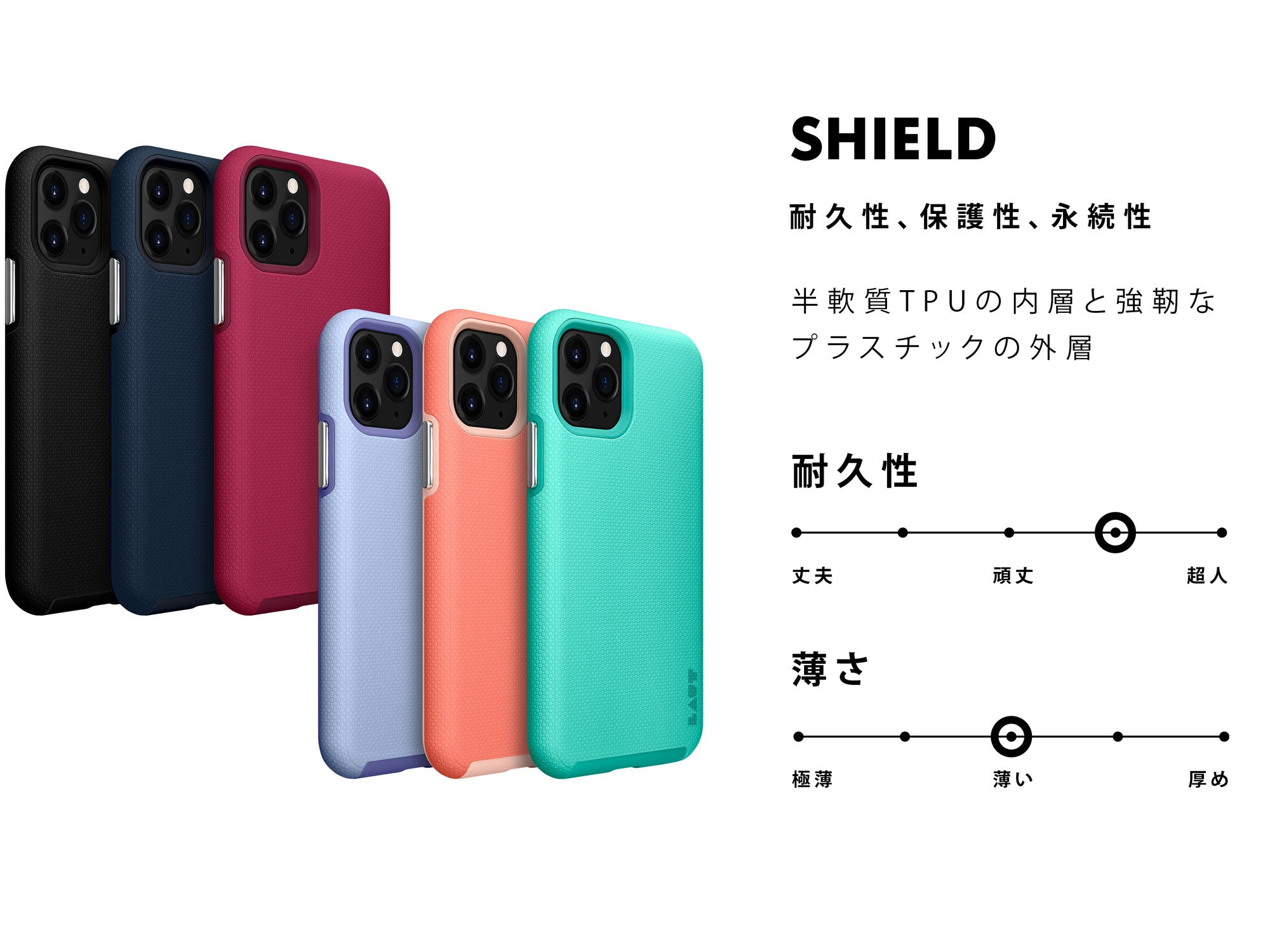 SHIELD for iPhone 11 series