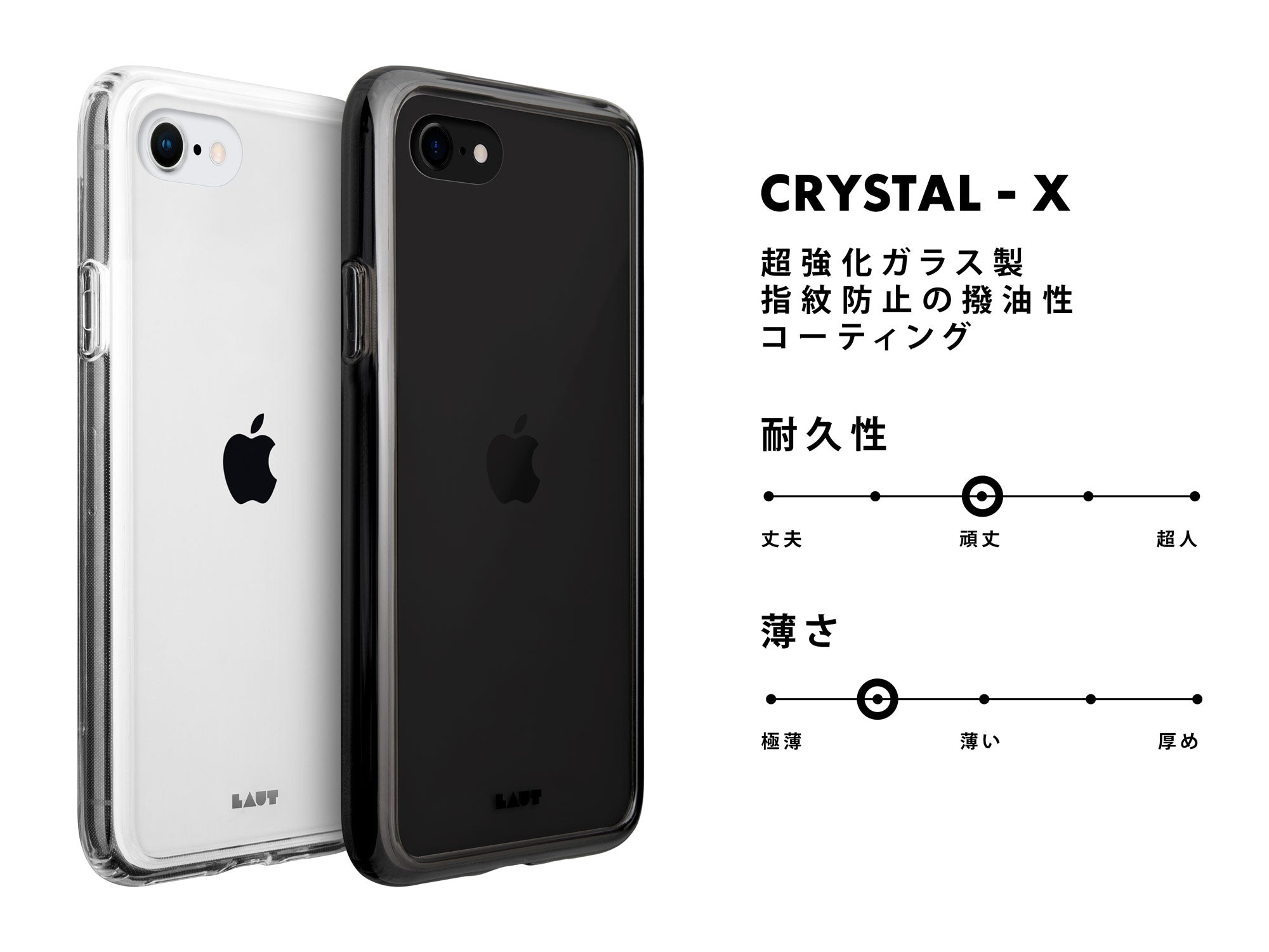 LAUT - Crystal-X for iPhone 9