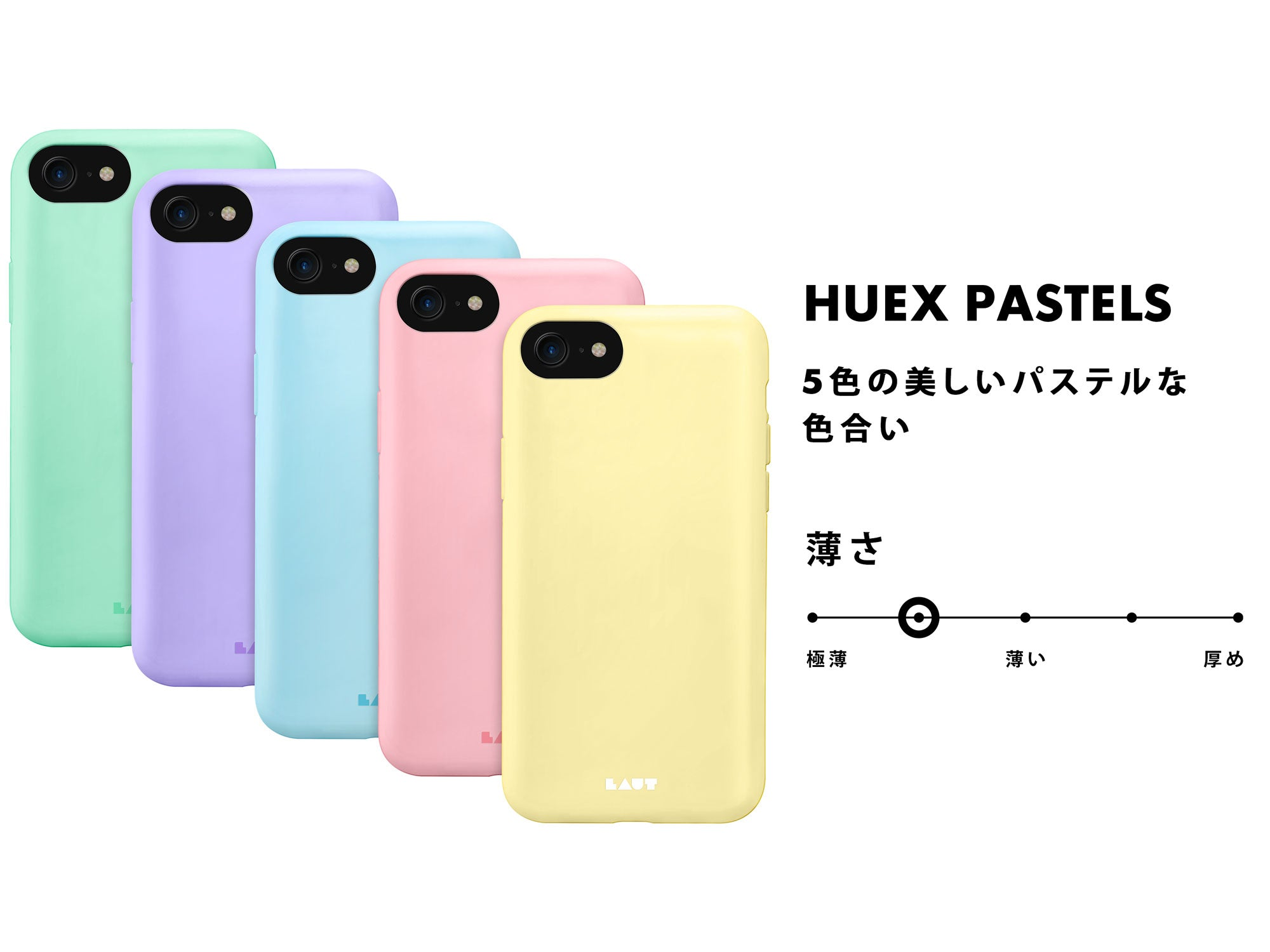 LAUT - HUEX Pastels for iPhone 9