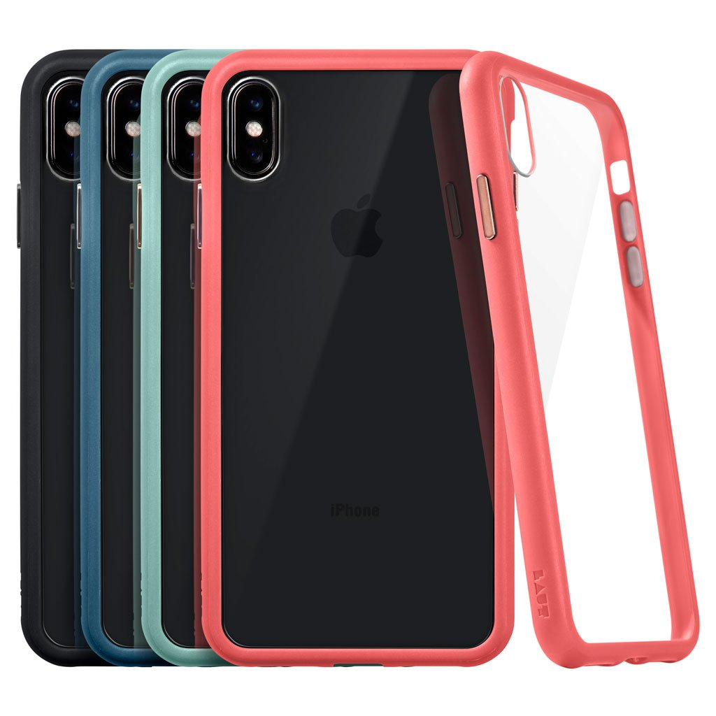 ACCENTS TEMPERED GLASS for iPhone XS Max - LAUT Japan