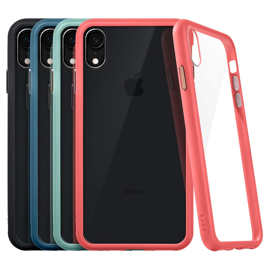 ACCENTS TEMPERED GLASS for iPhone XR - LAUT Japan