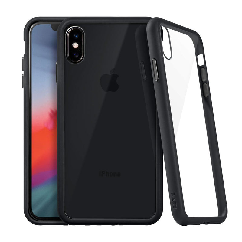 ACCENTS TEMPERED GLASS for iPhone XS - LAUT Japan
