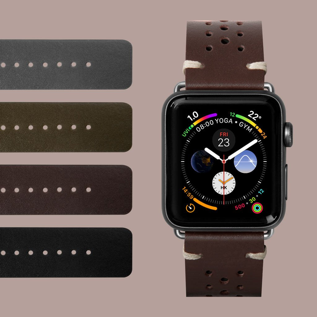 Heritage Watch Strap for Apple Watch Series 1-6 & SE - LAUT Japan