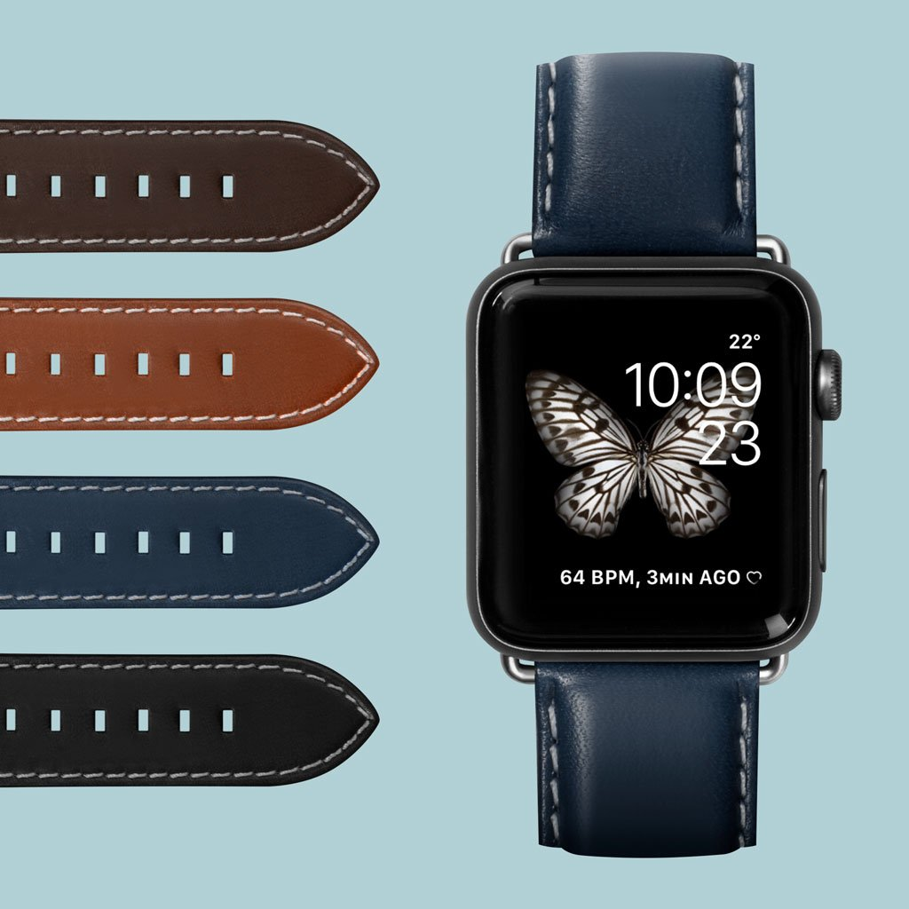 Oxford Watch Strap for Apple Watch Series 1-6 & SE - LAUT Japan