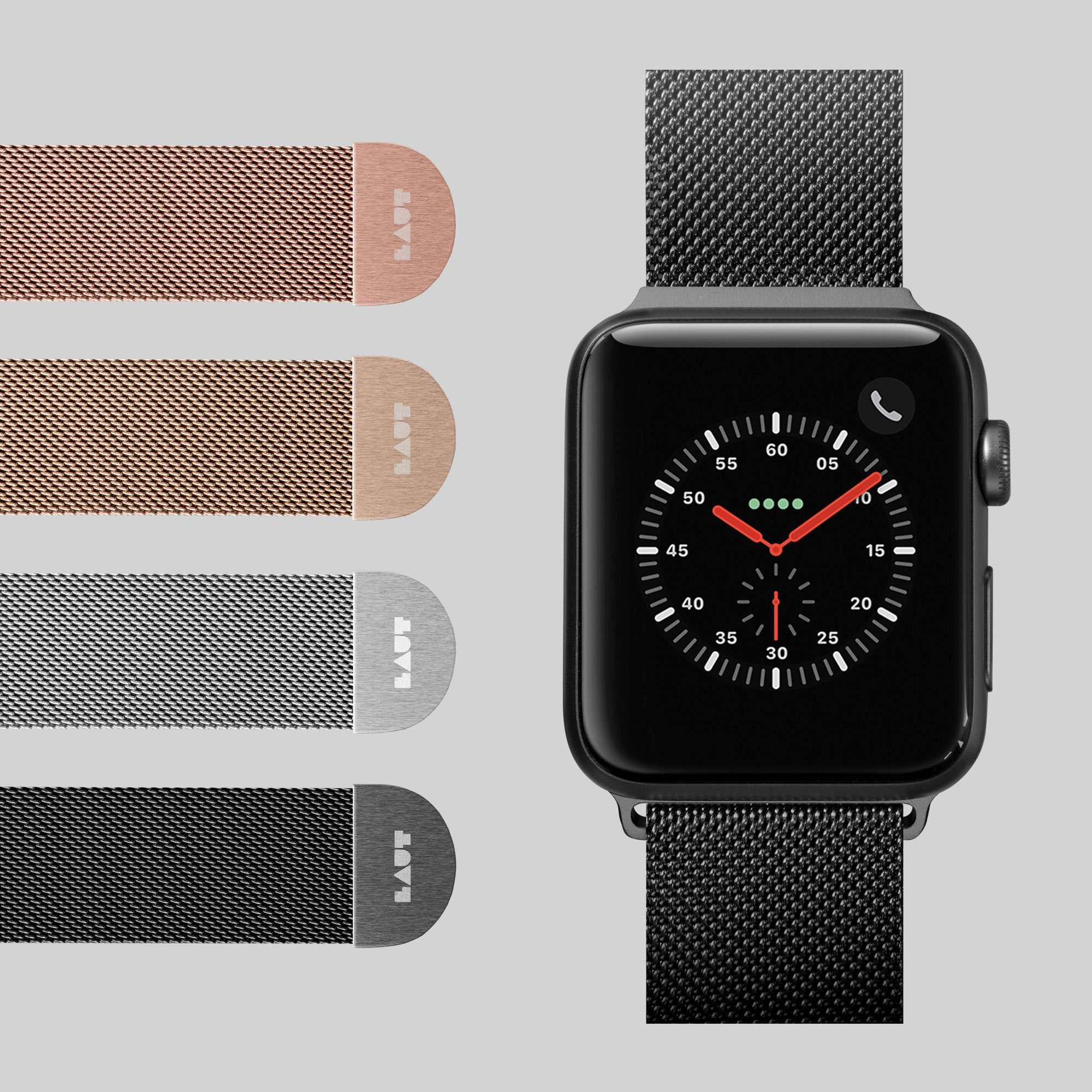 Steel Loop Watch Strap for Apple Watch Series 1-6 & SE - LAUT Japan