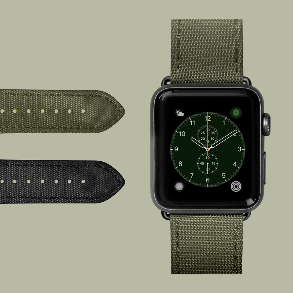 Technical Watch Strap for Apple Watch Series 1-6 & SE - LAUT Japan