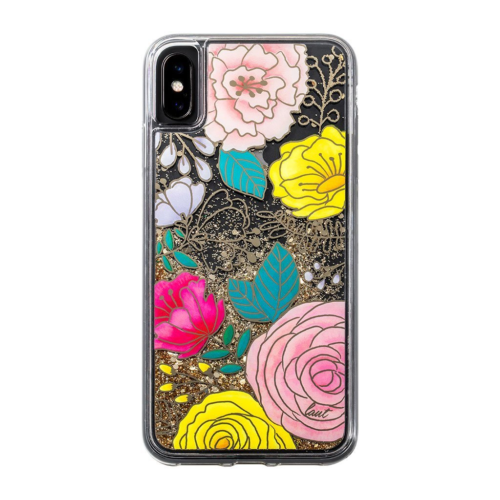 GLITTER FLORAL for iPhone XS Max - LAUT Japan